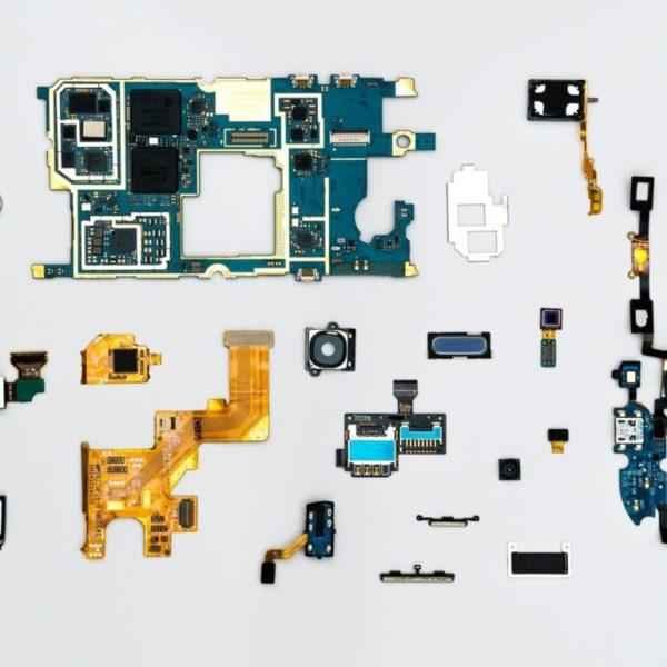 手機零件銷毀